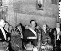 Peron's second inauguration